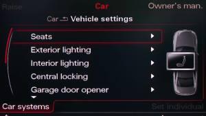 用车指南 奥迪智能钥匙系统设置