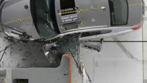 2012款讴歌TL 正面25%碰撞测试