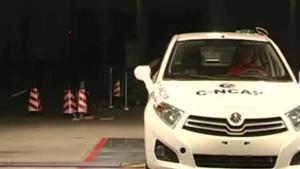 中华H230 C-NCAP安全测试侧面碰撞