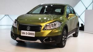 2013上海车展 全新款S-CROSS强势袭来