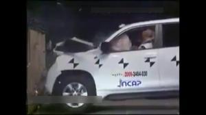 五星安全 2012年英菲尼迪QX碰撞测试