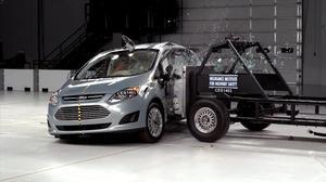 2014款福特C-Max混合动力 侧面碰撞测试