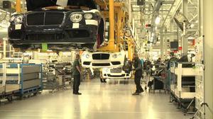 宾利汽车英国克鲁工厂探秘 工艺精湛