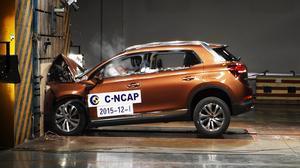 C-NCAP碰撞测试 DS 6豪华版获五星