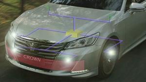 一汽丰田全新皇冠 智能弹起式发动机罩