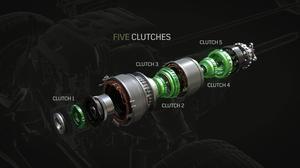 2017款凯迪拉克CT6 插电式混合动力传动