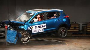 C-NCAP碰撞测试 绅宝X35手动豪华获4星