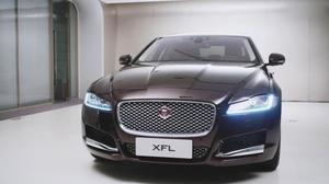 捷豹XFL外观解析 豪华运动商务座驾