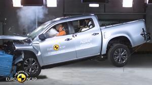 E-NCAP碰撞测试 奔驰X级皮卡获五星