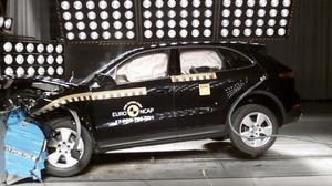 E-NCAP碰撞测试 保时捷卡宴获五星