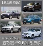 40万-70万元 五款豪华品牌SUV车型导购