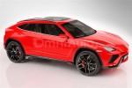 兰博基尼SUV量产版假想图 或2018年推出