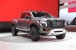 日产Titan Warrior概念车发布 狂派新成员