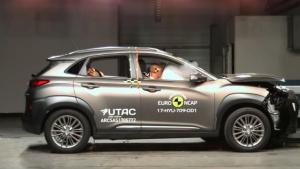 E-NCAP碰撞测试 现代KONA获五星安全