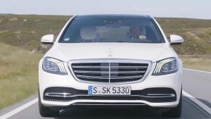 2018款奔驰S级 采用家族最新设计风格