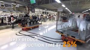 探访西雅特自动化工厂 万能机器人造车