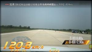 哈弗H6超级评测0-100km/h加速车内视角