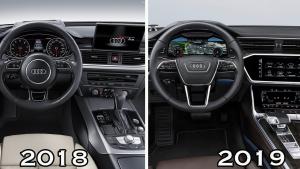 全新奥迪A6和老款到底有什么不同?