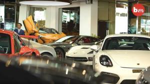 全球最大汽车经销商,100辆跑车在售,总价超过3亿元