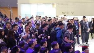 智在向前,中国豪华SUV领导者WEY 携明日科技登陆上海