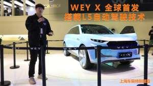 搭载L5自动驾驶,WEY首款纯电动概念车WEY-X正式发布