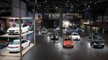 直击车展:宝马全新M5、X3全球首发