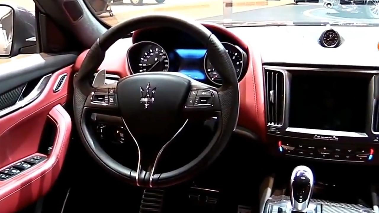 2017款玛莎拉蒂Levante S 内外细节实拍
