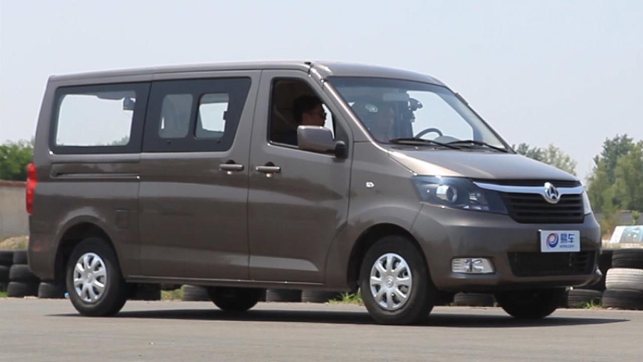 长安睿行M70轻型客车 四百米加速测试