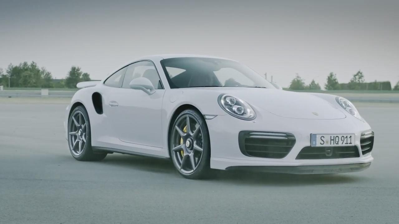 保时捷911 Turbo 全新20英寸碳纤维轮毂