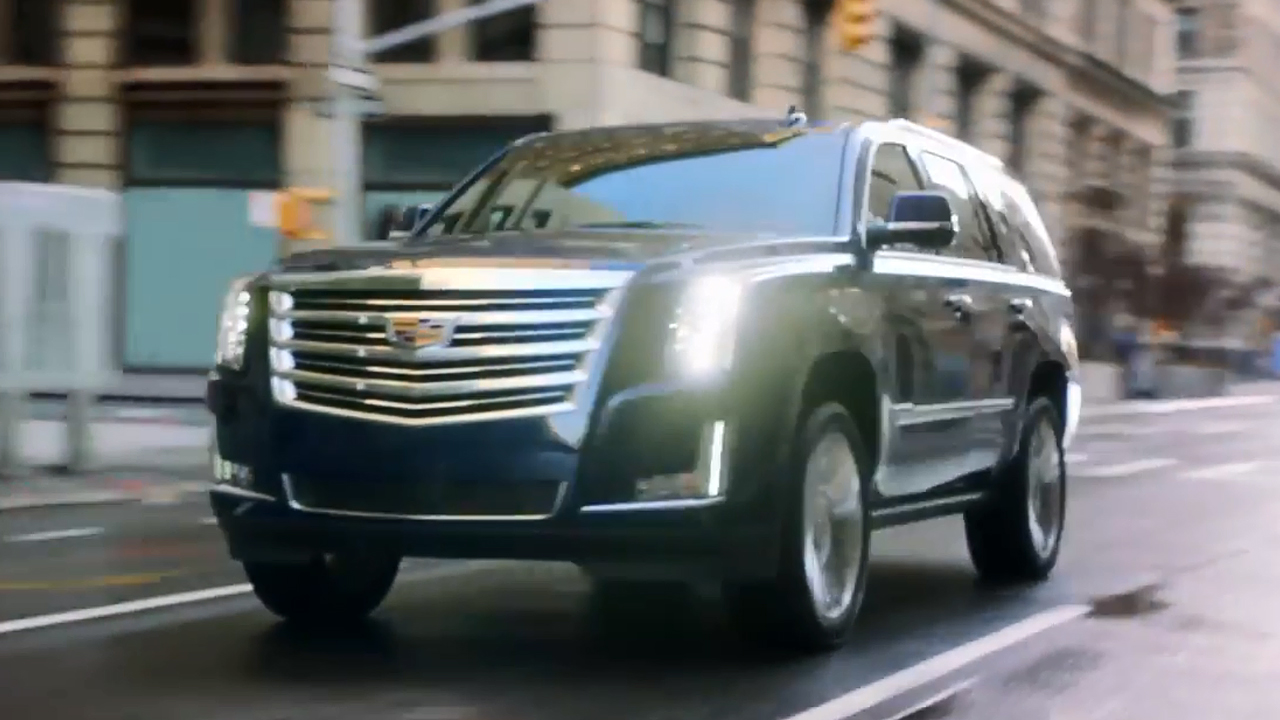 凯迪拉克凯雷德 定位于全尺寸大型SUV
