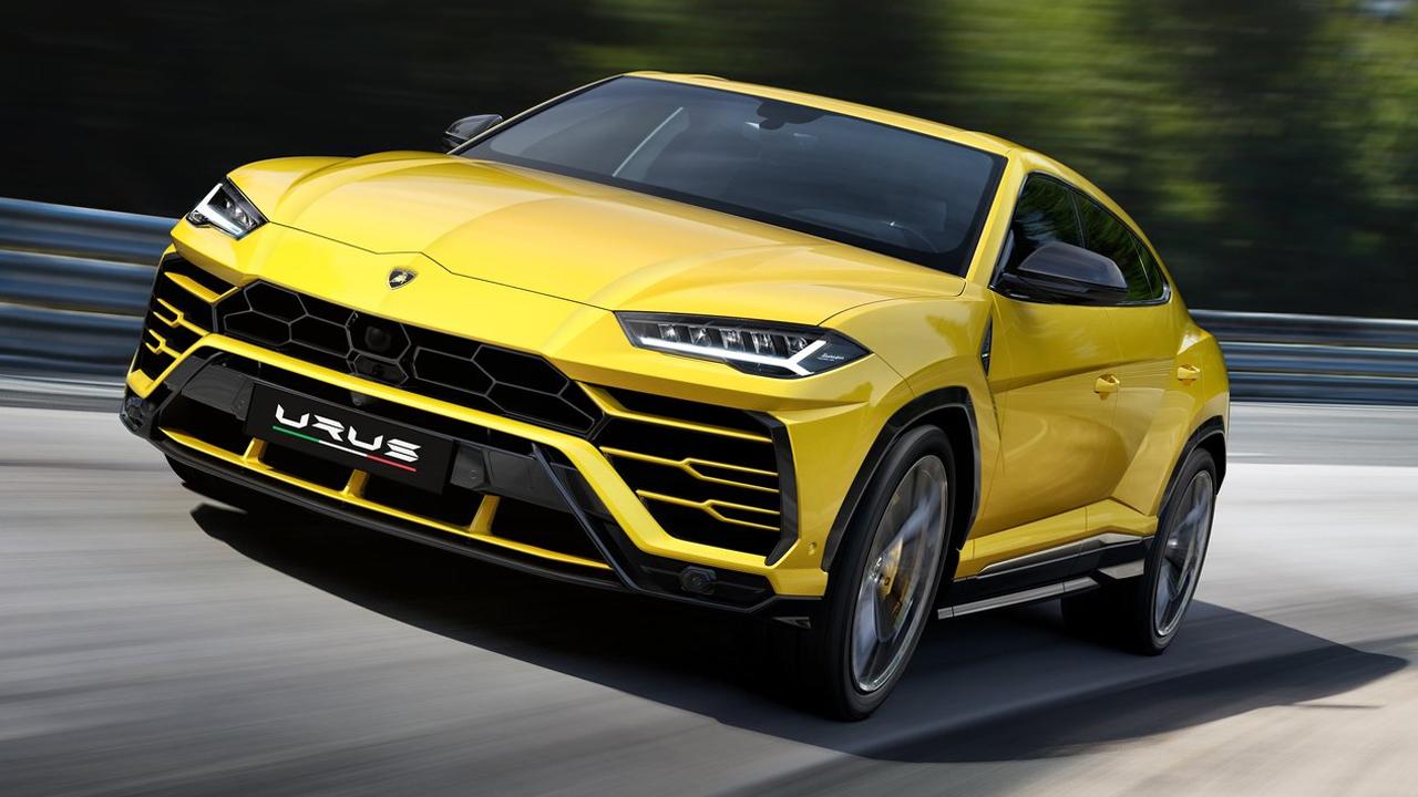 兰博基尼Urus发布 定位高性能豪华SUV